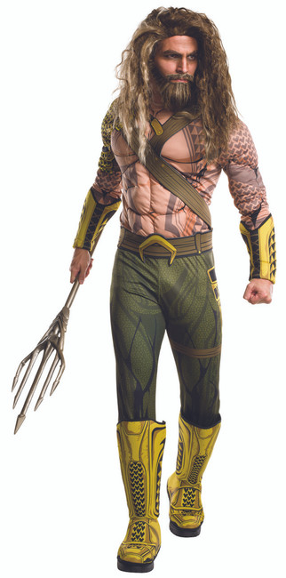 Dawn of Justice Muscle Aquaman Adult Costume