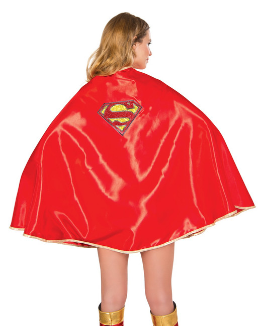 """Adult Supergirl Deluxe 30"""" Cape"""