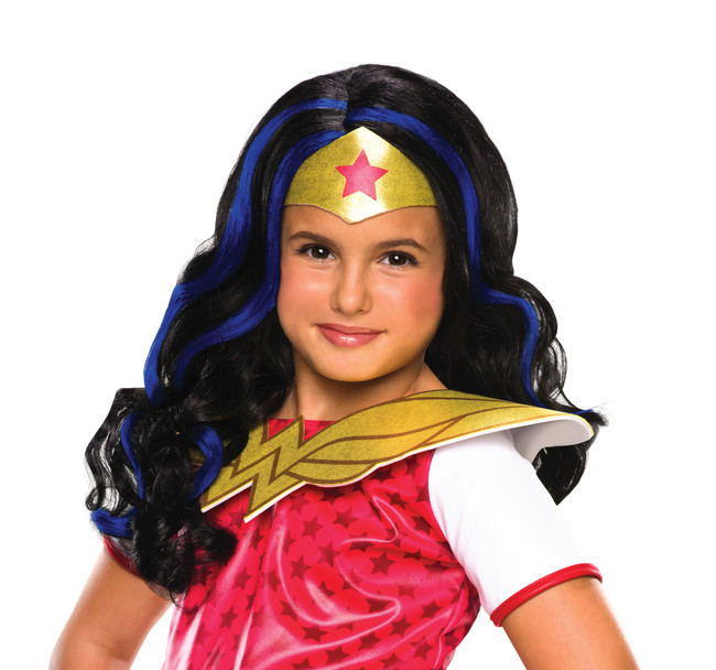 Wonder Woman DC Superhero Girls Wig
