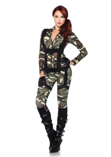 Pretty Paratrooper Women's Halloween Costume