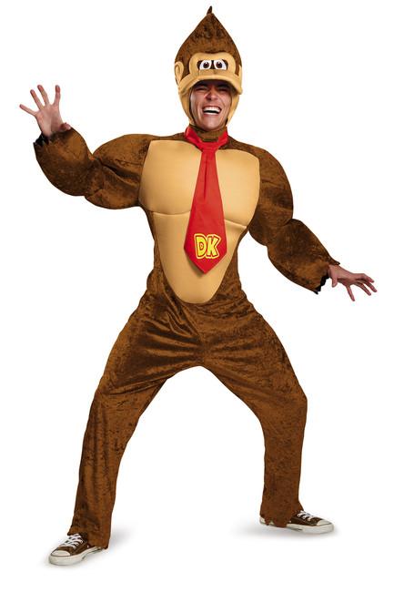 Donkey Kong Deluxe Men's Costume