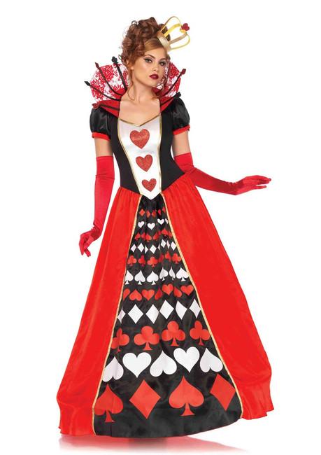 Queen of Hearts Deluxe Women's Costume