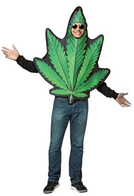 Get Real Pot Leaf Men's Costume