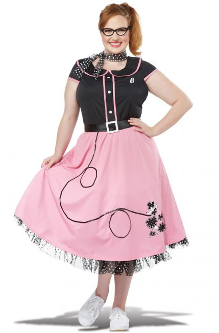 '50s Sweetheart Women's Plus Costume