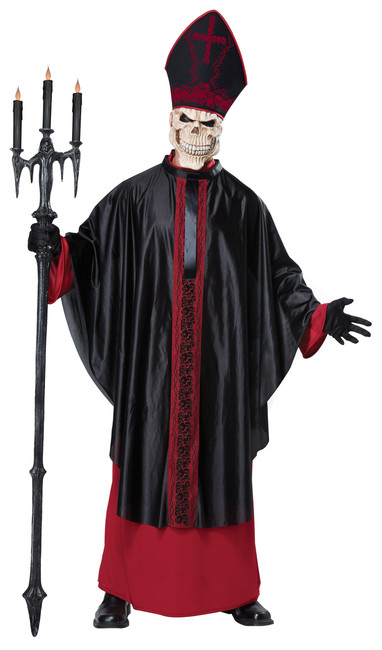 Black Mass Pope Men's Costume