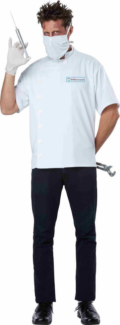 Dr. Novocaine Men's Dentist Costume
