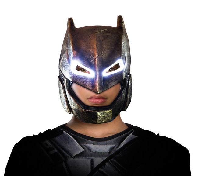 Armoured DOJ Batman Light Up Child Mask