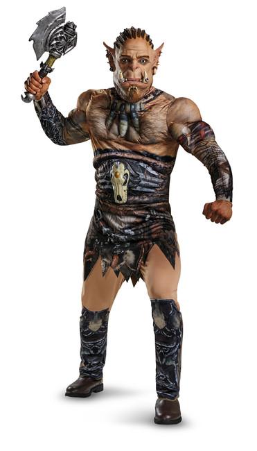 Durotan Warcraft Deluxe Muscle Chest Teen Costume