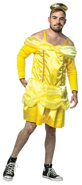 Beauty is a Beast My Hairy Princess Funny Men's Costume