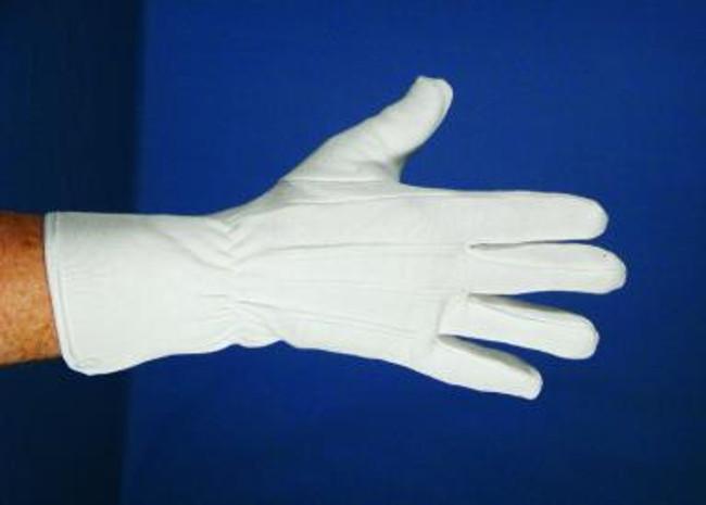"11"" Pro Santa or Clown White Gloves"
