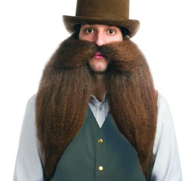 Saloon Keeper Elastic Band Beard and Moustache
