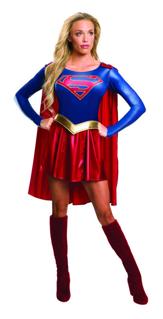 Ladies Supergirl TV Costume