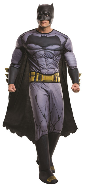 Deluxe Muscle Batman Dawn of Justice Men's Costume