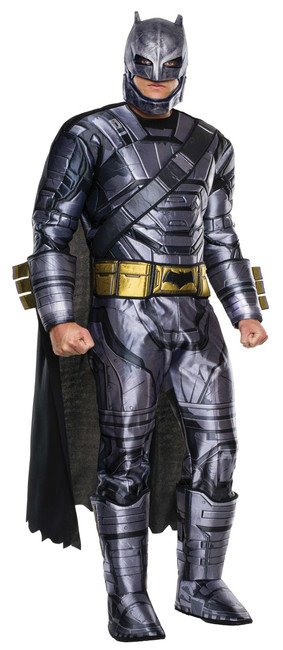 Deluxe Armoured Batman Dawn of Justice Men's Costume