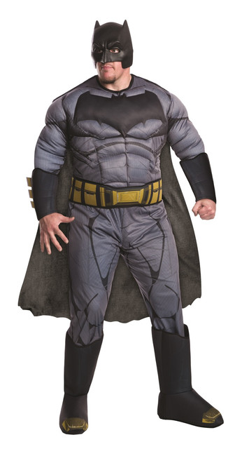 Deluxe Muscle Batman DOJ Men's Plus Costume