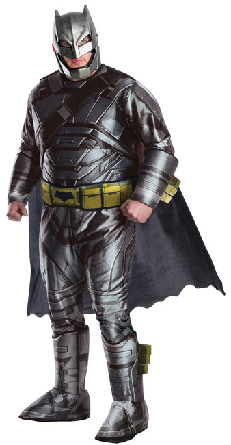 DOJ Deluxe Plus Men's Armoured Batman Costume