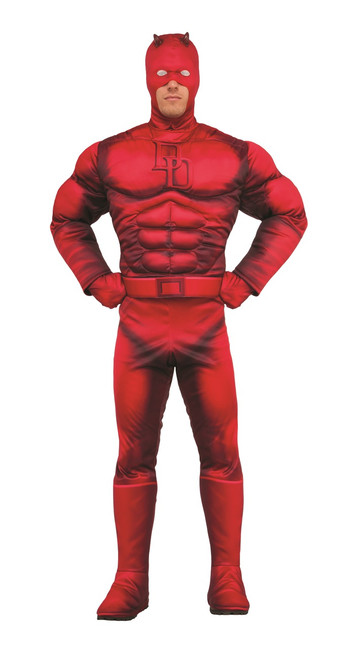 Deluxe Marvel Daredevil Muscle Men's Costume