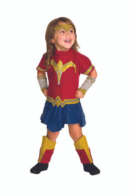 Wonder Woman EZ-On Toddler Romper 2T-4T