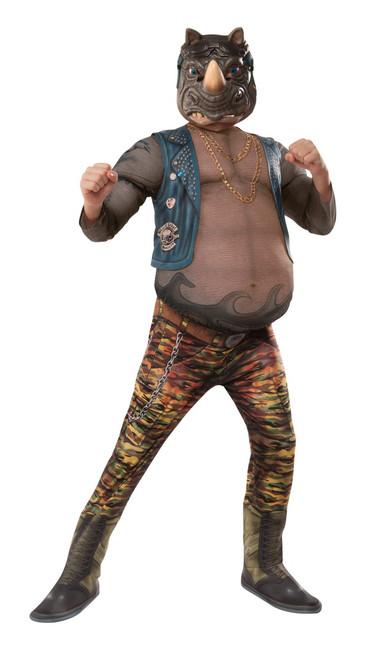 Deluxe Rocksteady TMNT 2 Kids' Costume