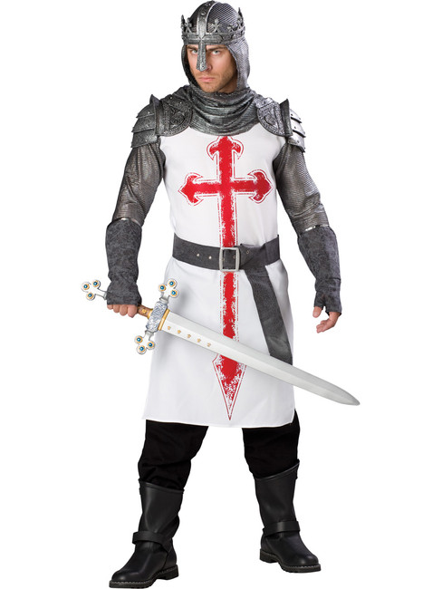 Mens Noble Crusader Knight Costume