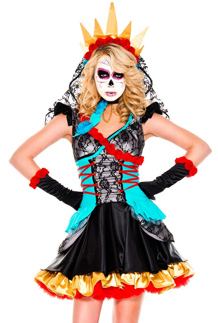 Day of the Dead Darling Ladies Costume