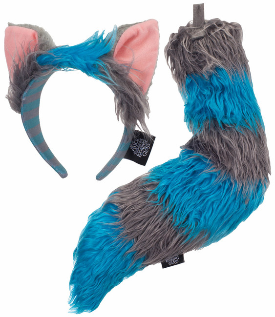 Through the Looking Glass Chesire Cat Tail and Ears Kit