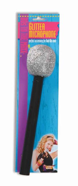 Metallic Sheen Plastic Microphone