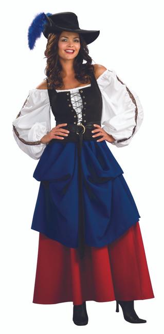 Renaissance Cavalier Lady Costume
