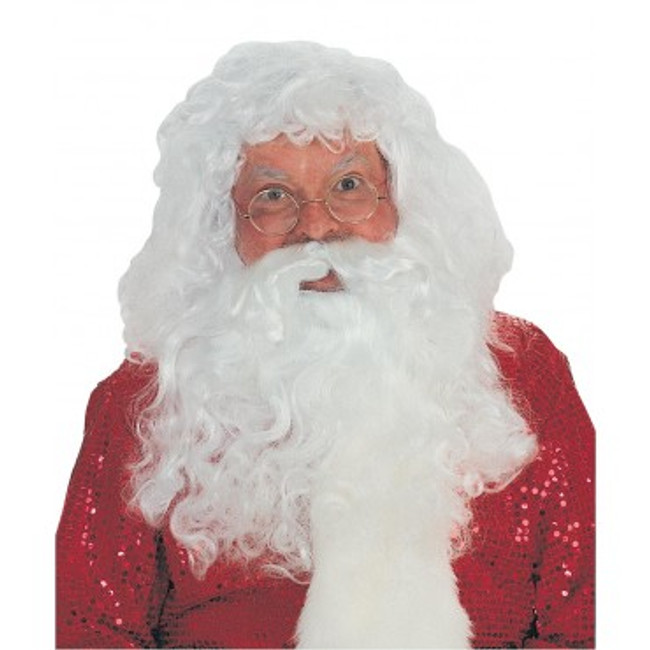 Simple Santa Wig and Beard Set