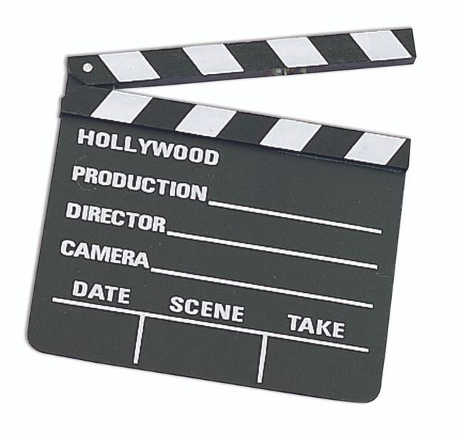 Movie Director Clapboard
