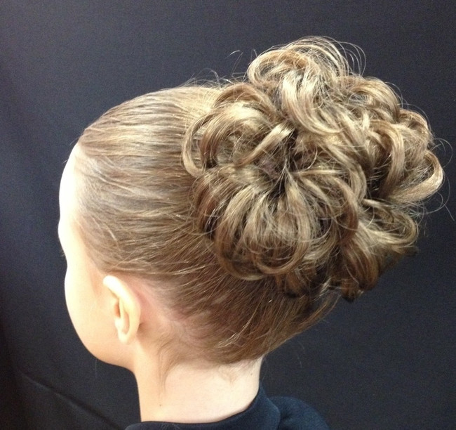 Dancer's Bun of Curls Hairpiece