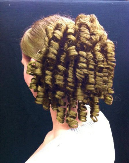 Dancer's Tight Ringlet Curls Hair Piece