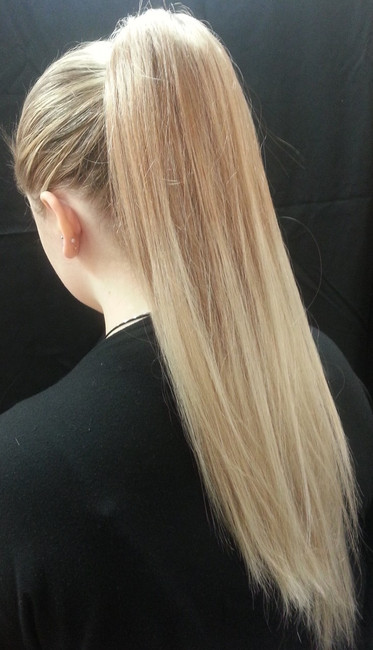 Dancer's Straight Ponytail Hair Piece