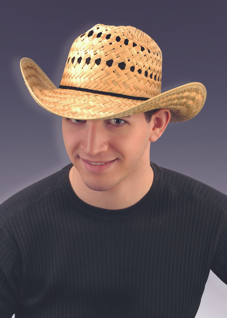 Basic Straw Cowboy Hat