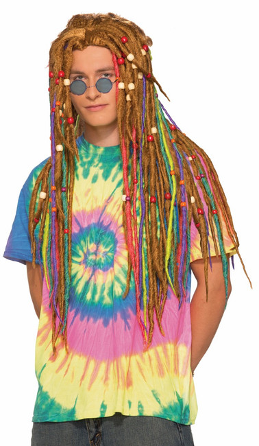 Hippie Rainbow Dreads
