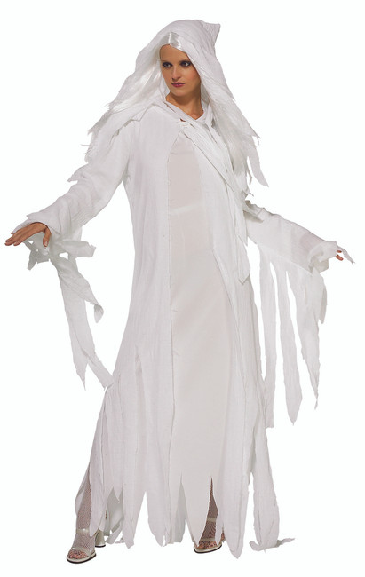 Ladies Ghostly Spirit Halloween Costume
