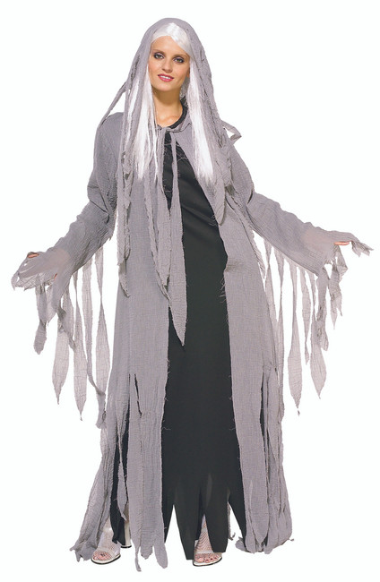 Ladies Midnight Spirit Ghost Costume