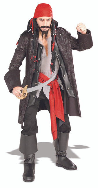 Mens Captain Cutthroat Pirate Costume