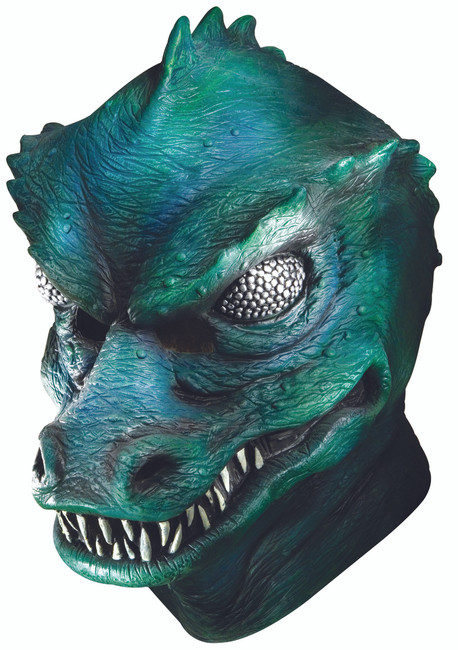 Deluxe Star Trek Gorn Latex Mask