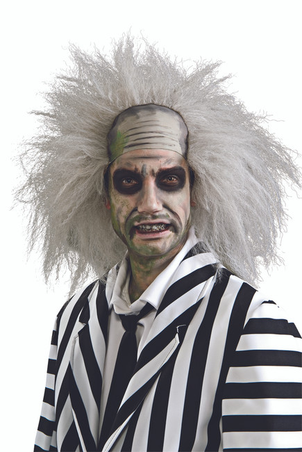 Licensed Beetlejuice Wig