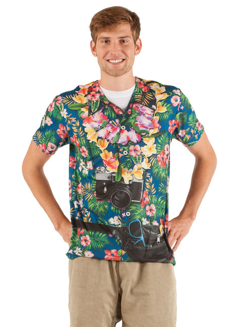 Hawaiian Tourist T-Shirt