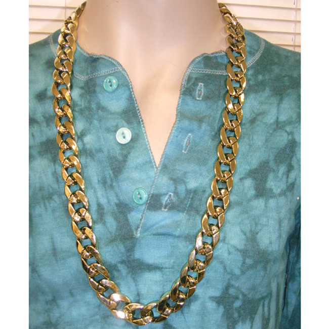 "36"" Thick Gold Chain"