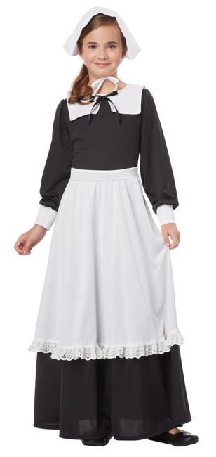 18th Century Girls Pilgrim Costume