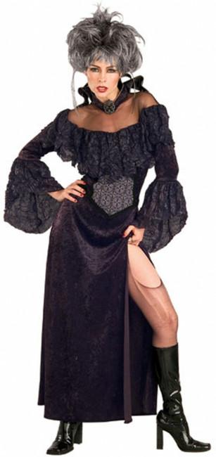 Evil Countess Darkheart Vampire Costume