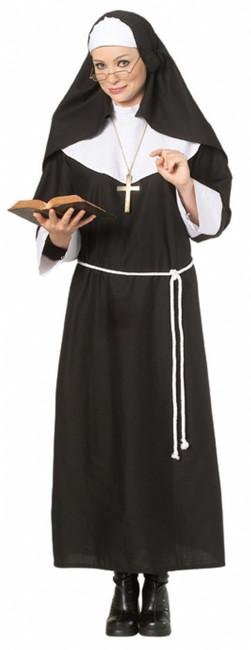 Deluxe Holy Nun Halloween Costume