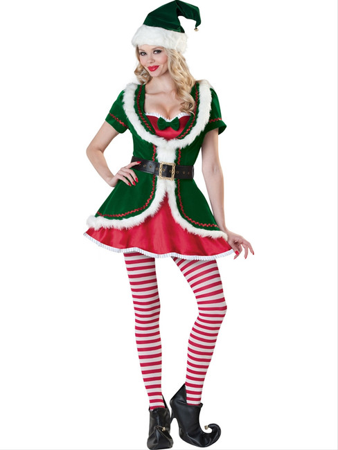 Holiday Honey Deluxe Elf Costume