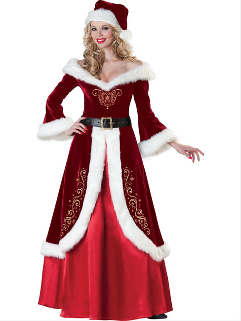 Mrs. St. Nick Deluxe Holiday Christmas Costume