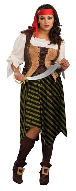 Sexy Buccaneer Pirate Wench Womens Costume