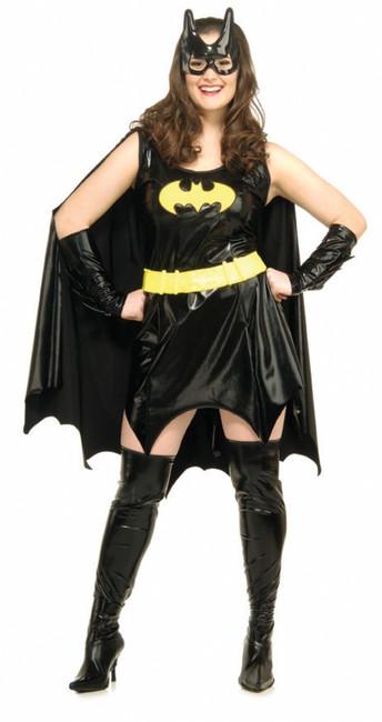 Batgirl Super Hero Halloween Costume Plus