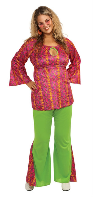 Funky 60s Girl Plus Size Costume